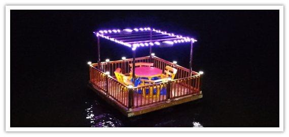 WSSRomantic Float N' Dine
